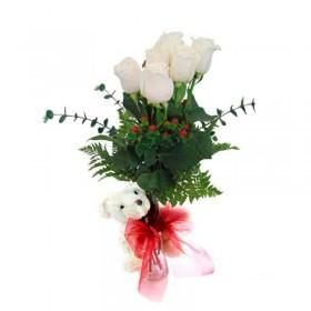 Ramo de Rosas Multicolor y Sentimientos
