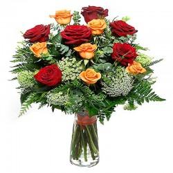 Ramo de Rosas Amarillas 24 Rosas