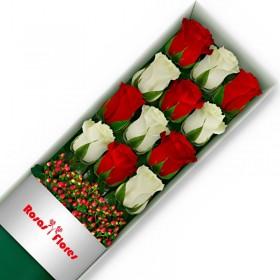 Caja de Rosas Rosadas 1 Rosa