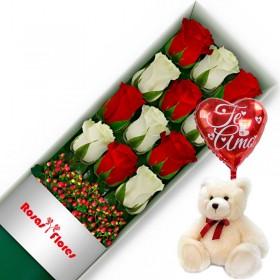 Caja de Rosas Rosadas 25 Rosas