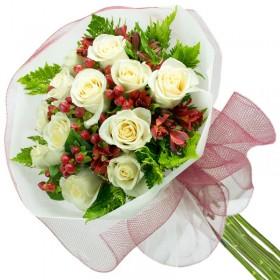 Caja de Rosas Amarilla 1 Rosa