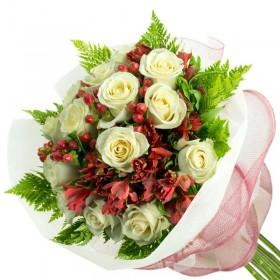 Caja de Rosas Amarillas 3 Rosas