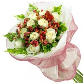 Caja de Rosas Amarillas 6 Rosas