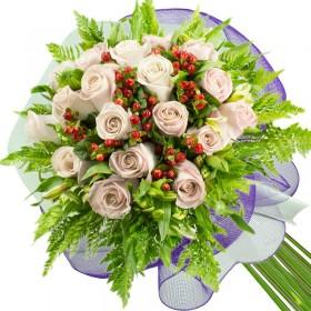Caja de Rosas Amarillas 12 Rosas