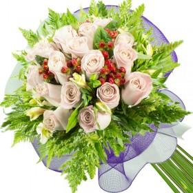 Caja de Rosas Amarillas 18 Rosas